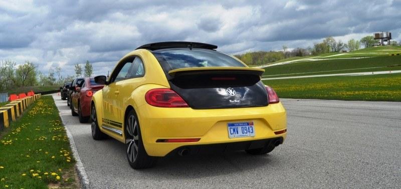 2014 Volkswagen Beetle GSR Scoots Around Go-Kart Autocross at Road America 41