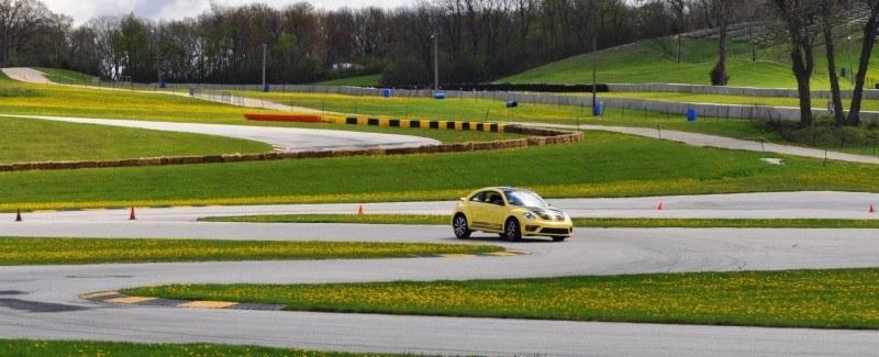 2014 Volkswagen Beetle GSR Scoots Around Go-Kart Autocross at Road America 4