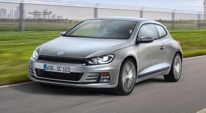 2014 Volkswagen Scirocco R and R-Line - Dynamic Launch Galleries 1