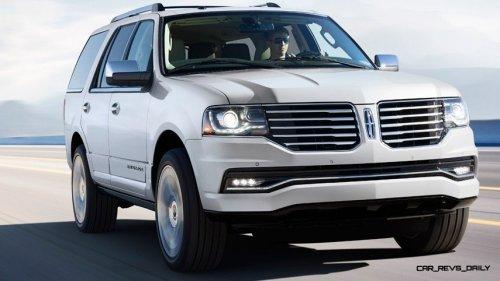 2015 Lincoln Navigator Hero Shot