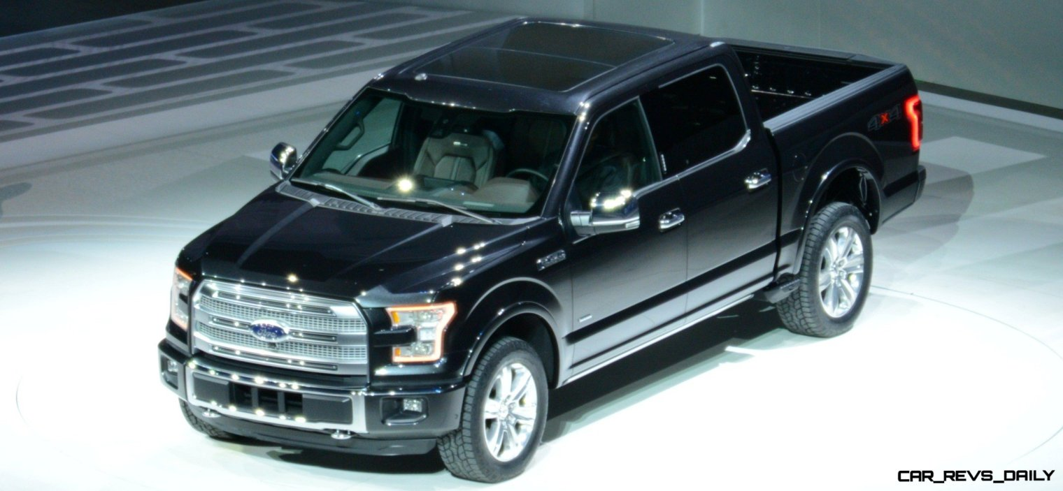 2015 FORD F-150 Almost Unbelieveably New - $14B Golden Goose 15