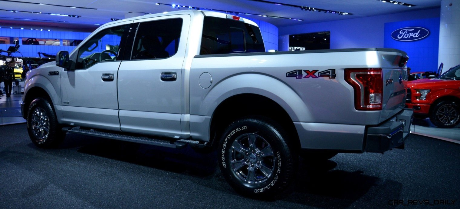 2015 FORD F-150 Almost Unbelieveably New - $14B Golden Goose 16