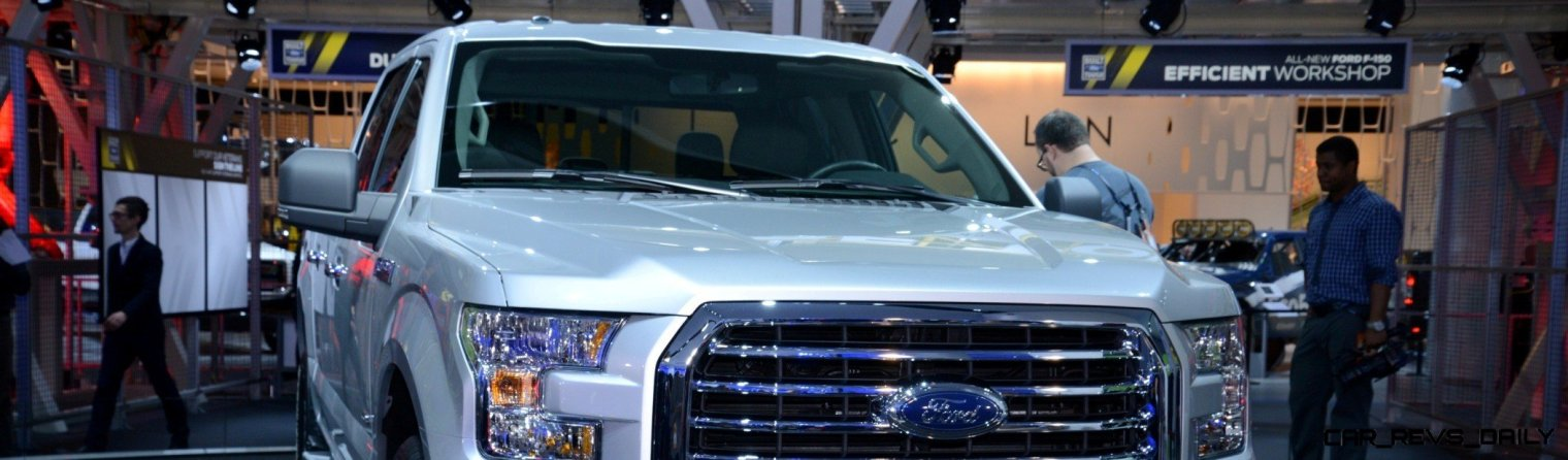 2015 FORD F-150 Almost Unbelieveably New - $14B Golden Goose 22