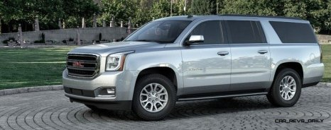 2015 GMC Yukon XL - Animated Turntables of 9 Color Choices 10