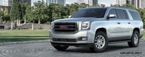 2015 GMC Yukon XL - Animated Turntables of 9 Color Choices 2