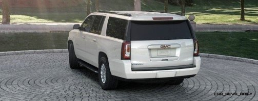 2015 GMC Yukon XL - Animated Turntables of 9 Color Choices 230