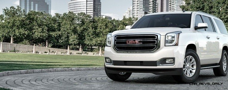2015 GMC Yukon XL - Animated Turntables of 9 Color Choices 240