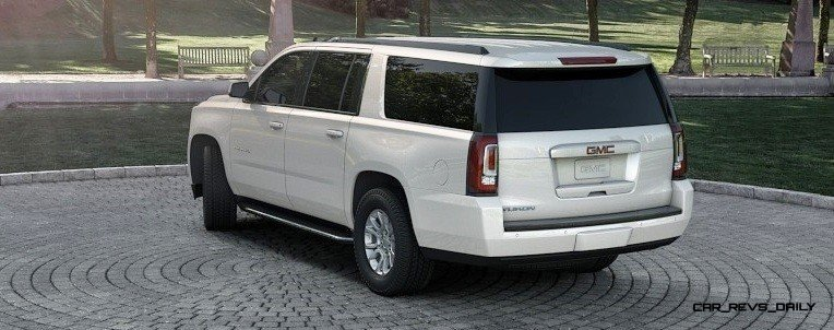 2015 GMC Yukon XL - Animated Turntables of 9 Color Choices 246