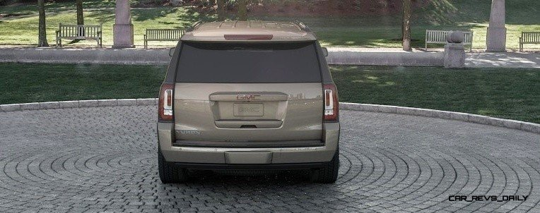 2015 GMC Yukon XL - Animated Turntables of 9 Color Choices 275