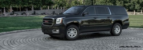 2015 GMC Yukon XL - Animated Turntables of 9 Color Choices 47