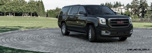 2015 GMC Yukon XL - Animated Turntables of 9 Color Choices 59