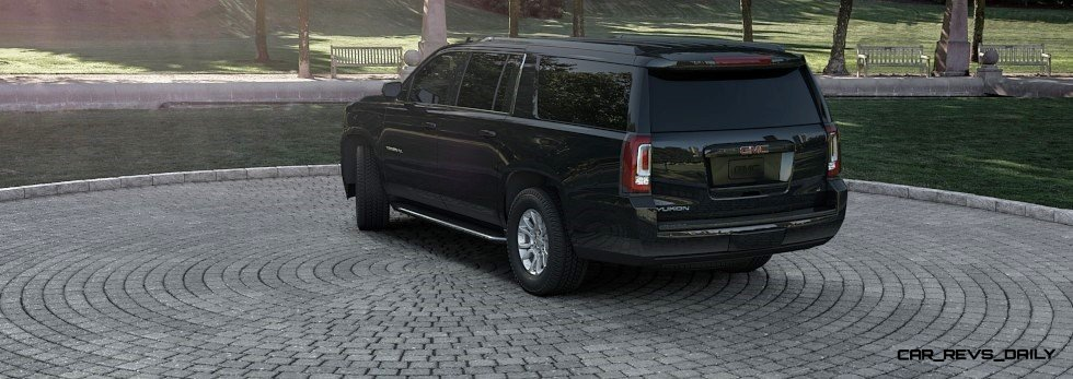2015 GMC Yukon XL - Animated Turntables of 9 Color Choices 61