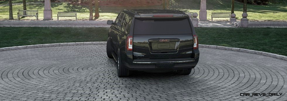 2015 GMC Yukon XL - Animated Turntables of 9 Color Choices 69