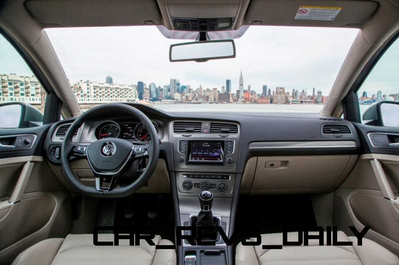 2015 VW Golf TSI 3dr Joins TDI and GTI in Brooklyn en Route to Detroit Show 23