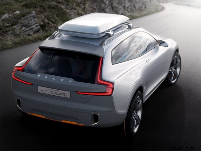 2015 Volvo XC90 Closely Previewed by New XC Coupe Concept for Detroit 11
