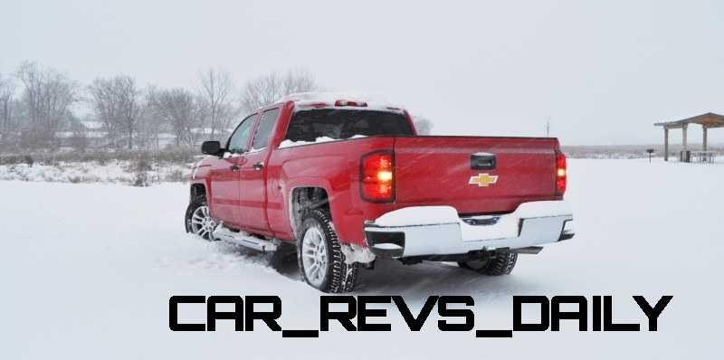 CarRevsDaily - Snowy Test Photos - 2014 Chevrolet Silverado All-Star Edition 10