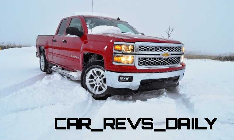 CarRevsDaily - Snowy Test Photos - 2014 Chevrolet Silverado All-Star Edition 27