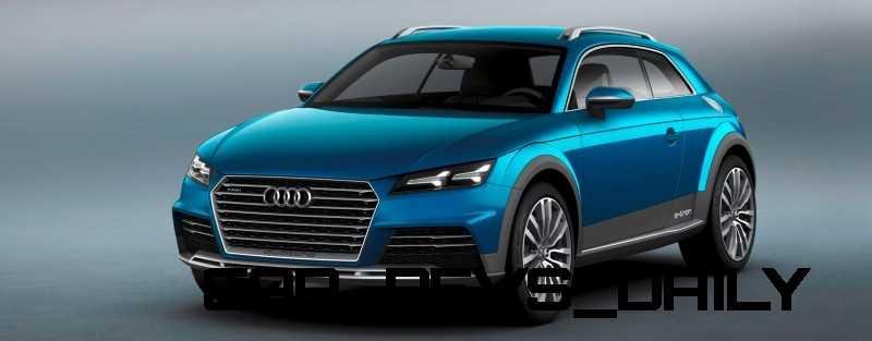 CarRevsDaily.com - 2014 Audi Allroad Shooting Brake Concept (Q2 e-tron) 3