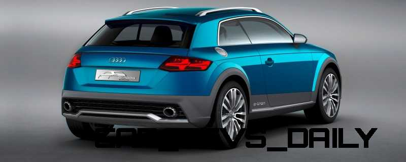 CarRevsDaily.com - 2014 Audi Allroad Shooting Brake Concept (Q2 e-tron) 4