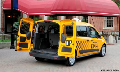 New Ford Transit Connect Taxi