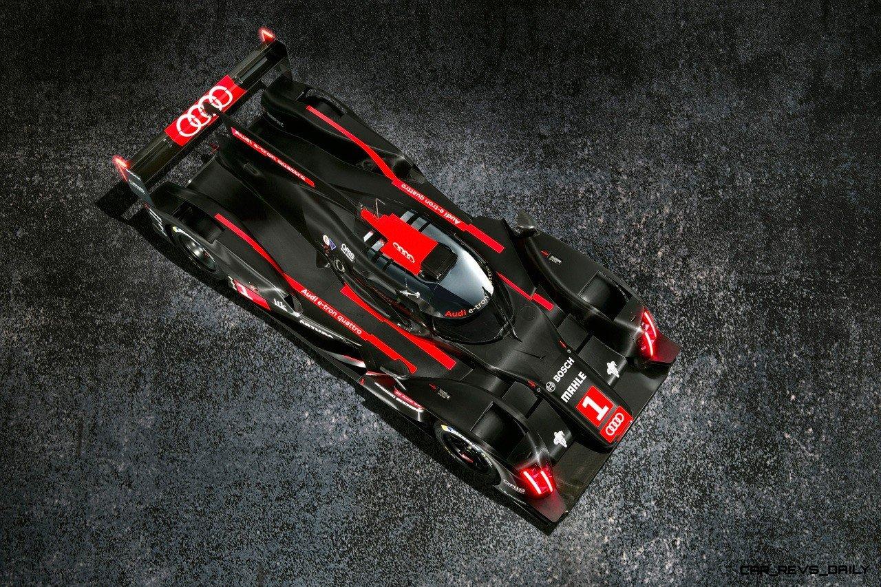 CarRevsDaily.com - Laser Lighting for 2014 AUDI R18 LeMans 42