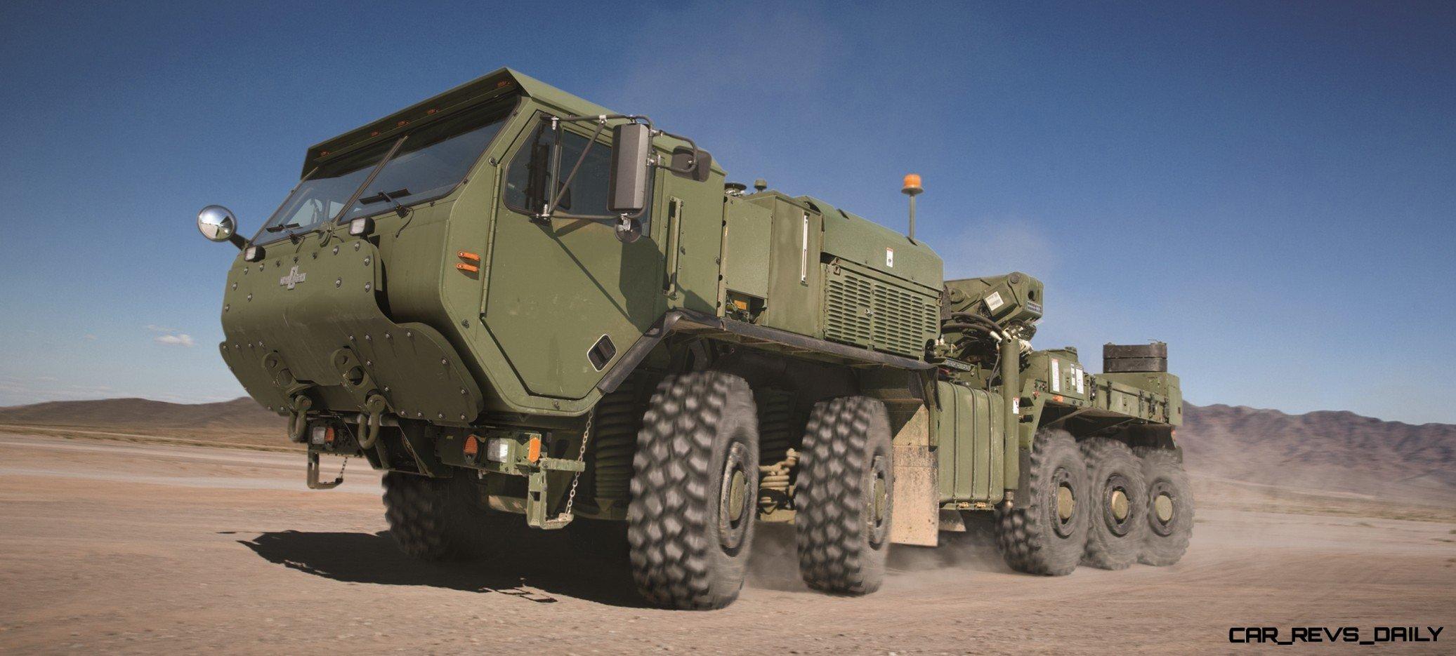 CarRevsDaily.com - Oshkosh Defense Medium and Heavy Showcase 13