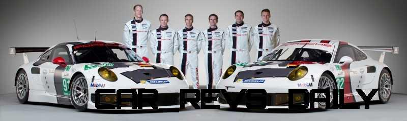 CarRevsDaily.com - Porsche 911 Racers Compared - 2014 Porsche 911 RSR (Type 991) 10