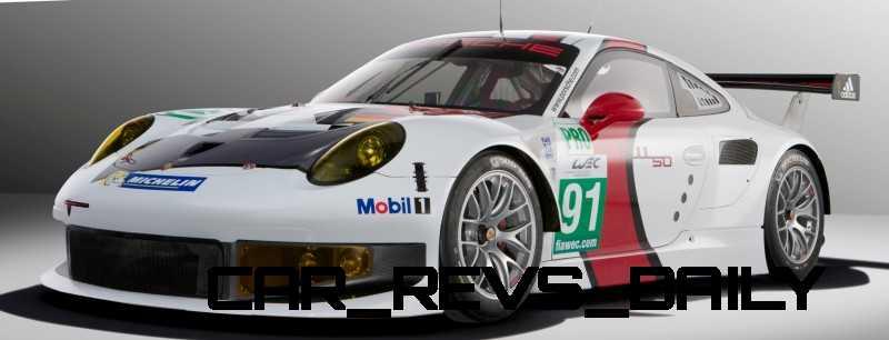 CarRevsDaily.com - Porsche 911 Racers Compared - 2014 Porsche 911 RSR (Type 991) 7