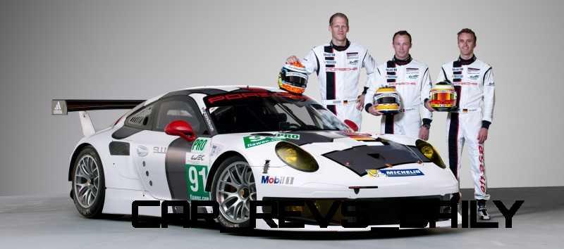 CarRevsDaily.com - Porsche 911 Racers Compared - 2014 Porsche 911 RSR (Type 991) 9