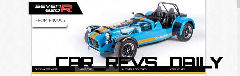 Caterham Coming to America!  620R to be sold by Superformance (Without An Engine...) 2