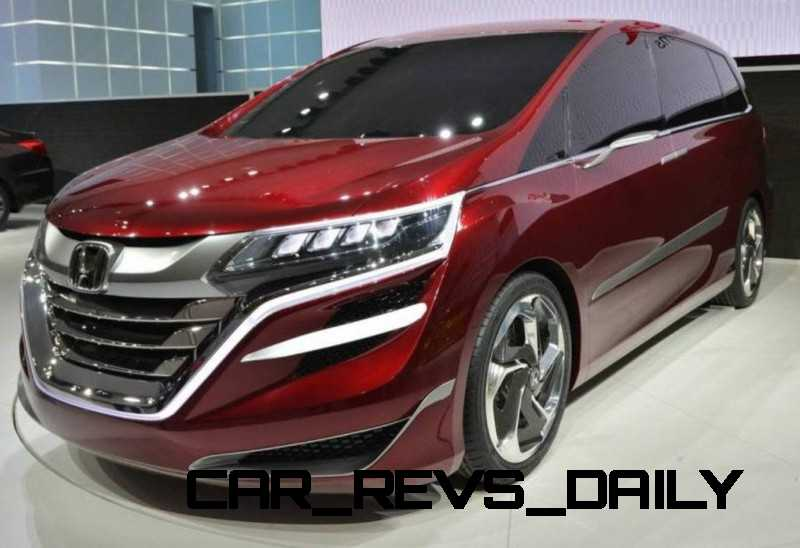 Honda Jade and Concept M from Shanghai 2013 Likely No-Shows in Detroit  4