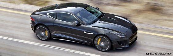 Jaguar Makes a WINNER! 2015 F-type R Coupe Debut12