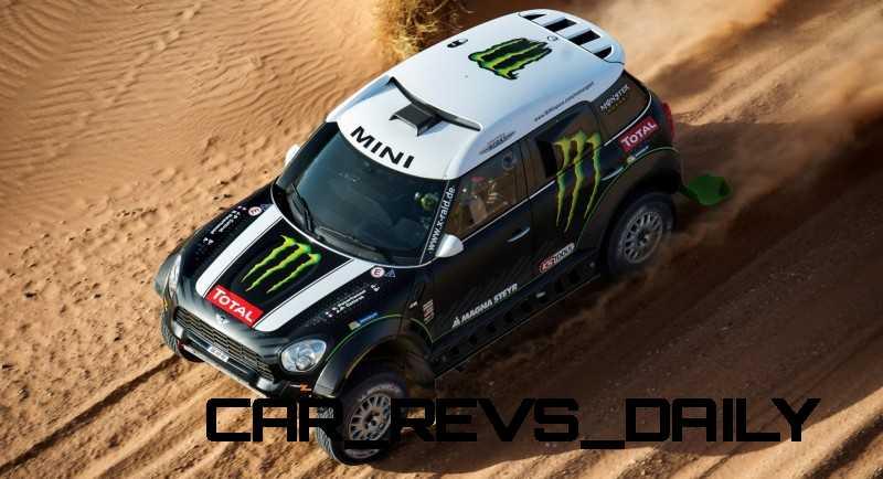 MINI Poised for Dakar Three-Peat with All4 Countryman Squad 25