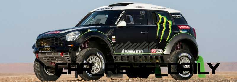 MINI Poised for Dakar Three-Peat with All4 Countryman Squad 26