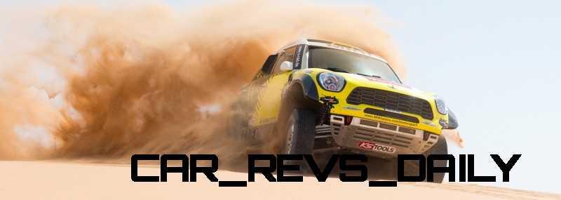 MINI Poised for Dakar Three-Peat with All4 Countryman Squad 32