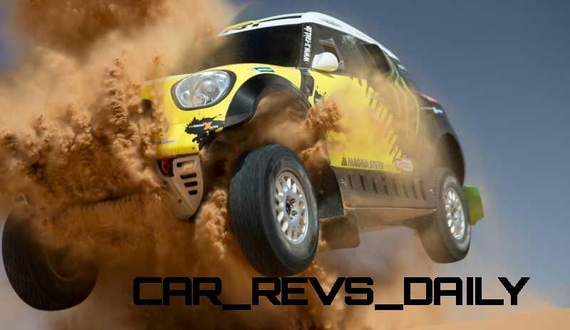 MINI Poised for Dakar Three-Peat with All4 Countryman Squad 35