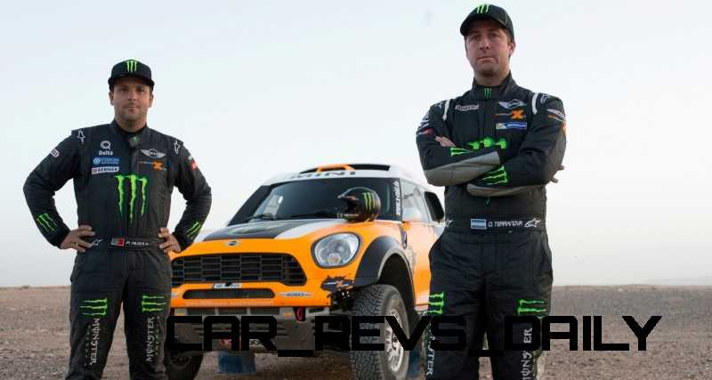 MINI Poised for Dakar Three-Peat with All4 Countryman Squad 38