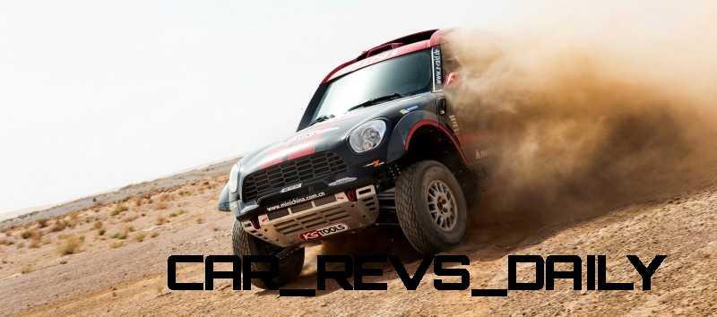 MINI Poised for Dakar Three-Peat with All4 Countryman Squad 46