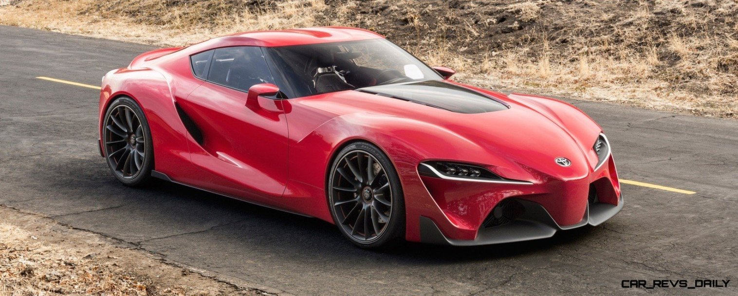 Surprise! Drop-Dead Sexy Toyota Supercar Playable in GT6 and Previewing SUPRA 4