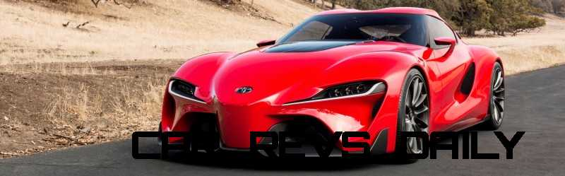 Surprise! Drop-Dead Sexy Toyota Supercar Playable in GT6 and Previewing SUPRA 5
