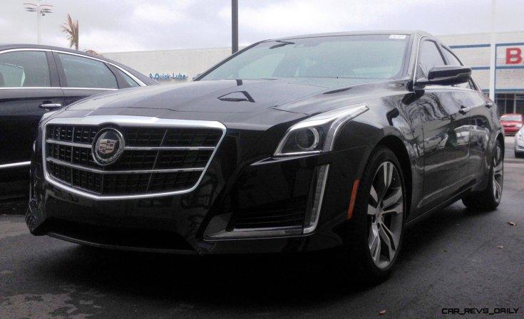 2014 Cadillac CTS Vsport - High-Res Photos 8