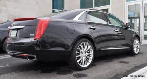 2014 Cadillac XTS4 Platinum Vsport -- First Drive Video and Photos 2