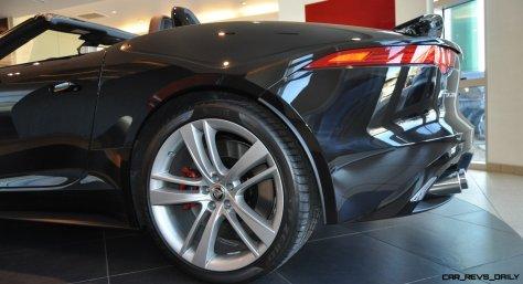 2014 Jaguar F-type S Cabrio - LED Lighting Demo and 60 High-Res Photos13