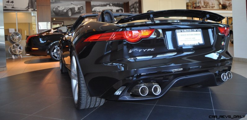 2014 Jaguar F-type S Cabrio - LED Lighting Demo and 60 High-Res Photos14