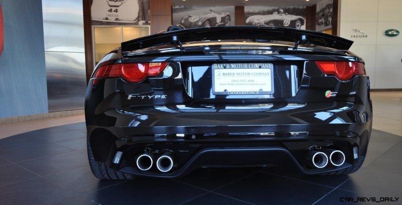 2014 Jaguar F-type S Cabrio - LED Lighting Demo and 60 High-Res Photos15