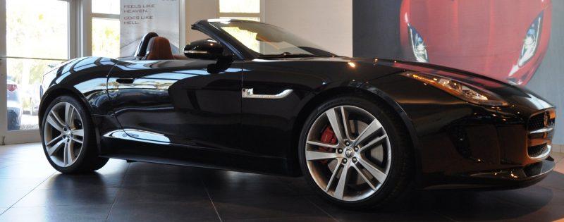 2014 Jaguar F-type S Cabrio - LED Lighting Demo and 60 High-Res Photos3