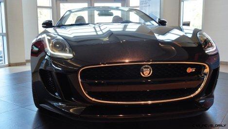 2014 Jaguar F-type S Cabrio - LED Lighting Demo and 60 High-Res Photos32