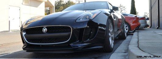 2014 Jaguar F-type S Cabrio - LED Lighting Demo and 60 High-Res Photos43