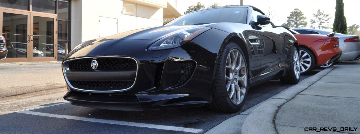 2014 Jaguar F-type S Cabrio - LED Lighting Demo and 60 High-Res Photos44