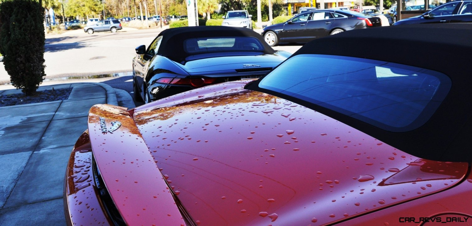 2014 Jaguar F-type S Cabrio - LED Lighting Demo and 60 High-Res Photos51